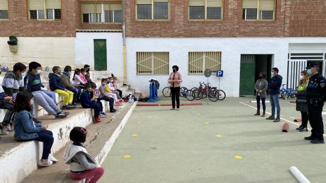 Alrededor de 1800 alumnos de Infantil y Primaria de Puerto Lumbreras recibirán durante el mes de mayo formación en educación vial - 2, Foto 2
