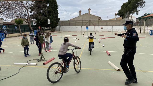 Alrededor de 1800 alumnos de Infantil y Primaria de Puerto Lumbreras recibirán durante el mes de mayo formación en educación vial - 4, Foto 4
