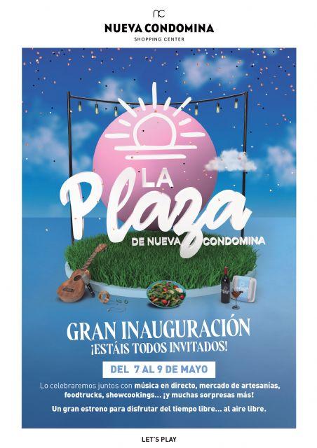 La Plaza de Nueva Condomina, un gran espacio para disfrutar en Murcia del ocio al aire libre - 1, Foto 1