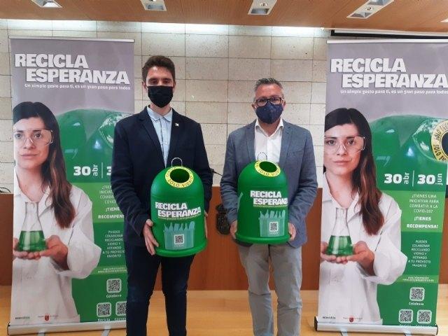 [Ecovidrio pone en marcha la campaña 'Recicla esperanza' en beneficio de la lucha contra el cambio climático y la pandemia por COVID-19
