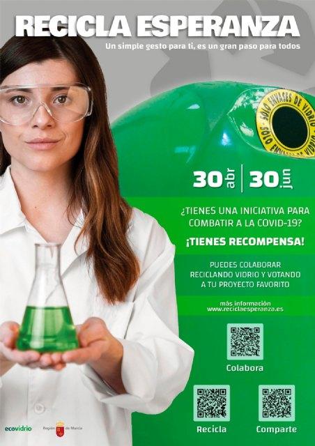 [Ecovidrio pone en marcha la campaña Recicla esperanza en beneficio de la lucha contra el cambio climático y la pandemia por COVID-19, Foto 3