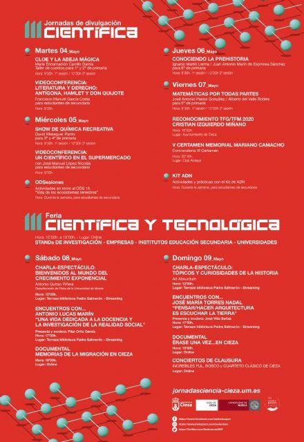 La ciencia invade Cieza gracias a las III Jornadas de Divulgación Científica de la Universidad de Murcia - 3, Foto 3