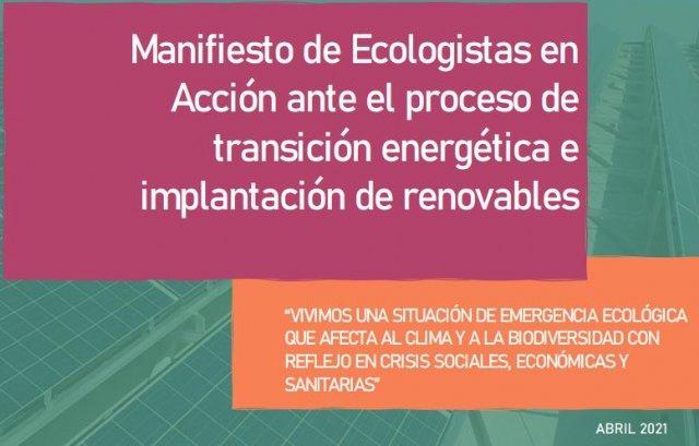Ecologistas en Acción reclama un Plan Regional de Ordenación de las plantas fotovoltaicas - 1, Foto 1