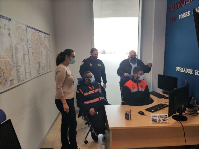 Finaliza el curso de operador de mando y control en emergencias 112 RM en Protección Civil Torre Pacheco - 2, Foto 2