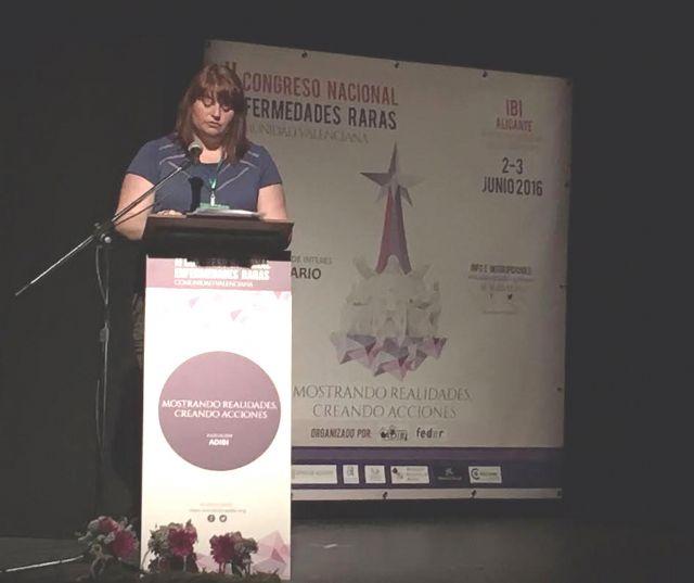 AELIP participa en el II Congreso Nacional de Enfermedades Raras Comunidad Valenciana, Foto 2