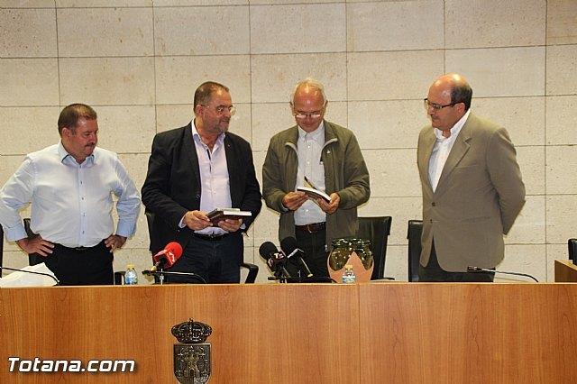 El Ayuntamiento de Totana realiza una recepción institucional a Francisco Casero Rodríguez, Foto 1