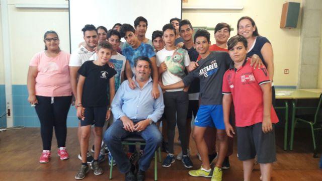 Clausura de Edukalo en centros de educación de San Pedro del Pinatar, Foto 1