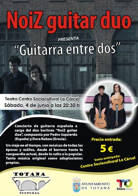Los conciertos del cantautor Juan José Robles y el dúo Noiz Guitar son la antesala musical de un atractivo fin de semana cultural, Foto 2