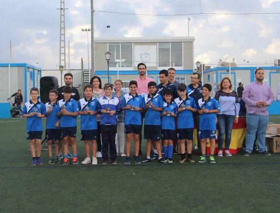 La Escuela Municipal de Fútbol celebró la clausura de una temporada repleta de éxitos - 1, Foto 1