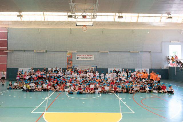 720 niños se formaron en las escuelas deportivas municipales durante el curso, Foto 1