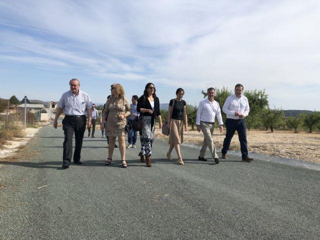 Los vecinos de las zonas rurales de La Copa de Bullas ven mejorada su accesibilidad con el arreglo del camino rural del Heredamiento - 1, Foto 1