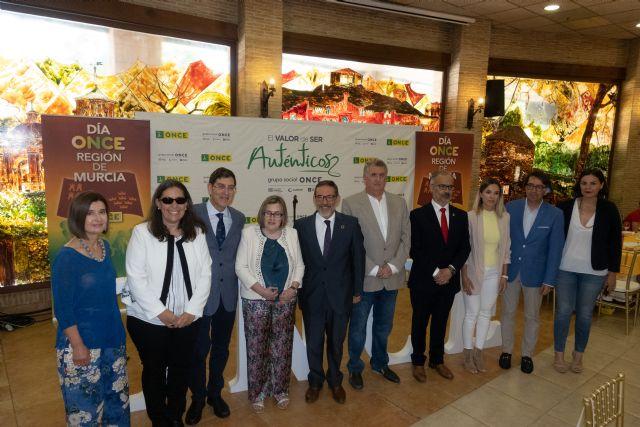 Caravaca acoge el 'Día de la ONCE', con la participación de  más de 400 afiliados, trabajadores y voluntarios - 1, Foto 1