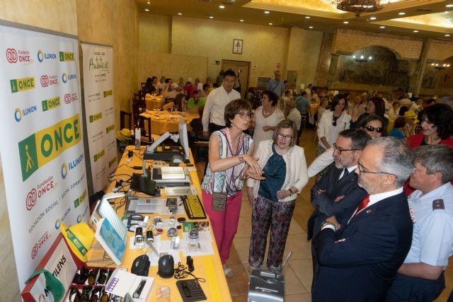 Caravaca acoge el 'Día de la ONCE', con la participación de  más de 400 afiliados, trabajadores y voluntarios - 2, Foto 2
