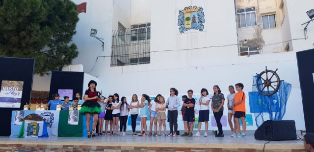 Los niños bautizan con Sallyma Sally a la tortuga boba del Museo del Mar de San Pedro del Pinatar - 2, Foto 2