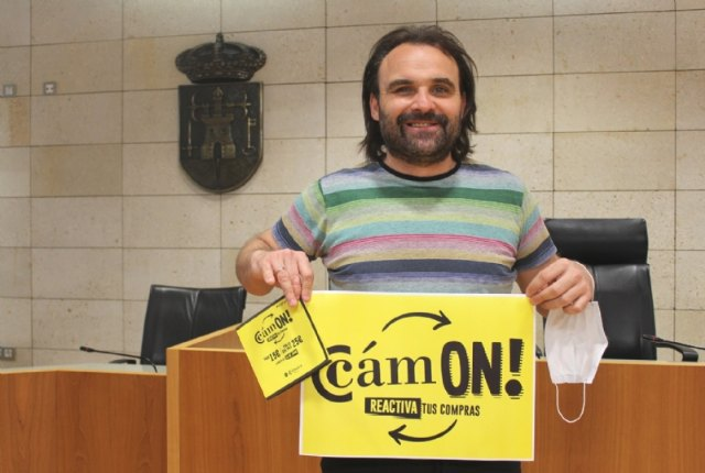 Totana participates in the Cámon! Reactiva, promoted by the Chamber of Commerce to reactivate local commerce