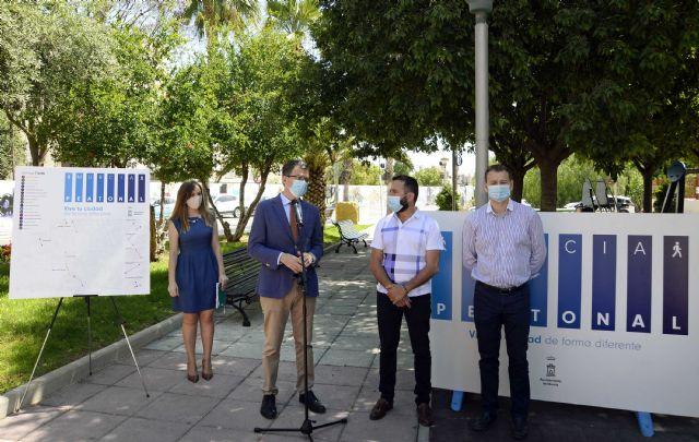 Las pedanías ganarán este domingo más de 27.000 m2 para el paseo y el deporte gracias al plan Murcia Peatonal - 1, Foto 1