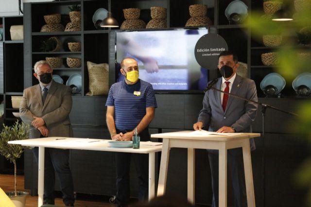 IKEA firma con el Ayuntamiento de Murcia un acuerdo para impulsar la empleabilidad entre colectivos vulnerables - 1, Foto 1