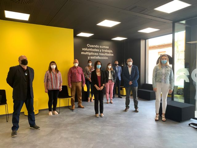 Inaugurada la nueva oficina tributaria de la Comunidad en La Unión - 1, Foto 1
