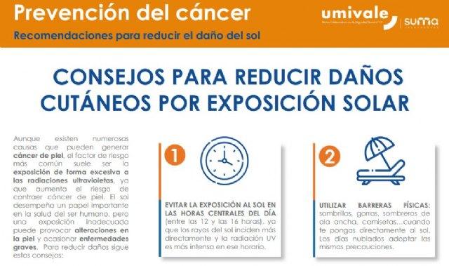 AECC Valencia y Umivale lanzan una campaña informativa para la detección precoz de cáncer de piel - 1, Foto 1