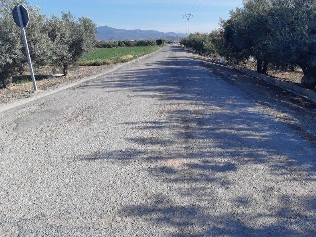 Se incluyen varias vías rurales de cuatro pedanías en el Registro Municipal de Caminos del Ayuntamiento de Totana