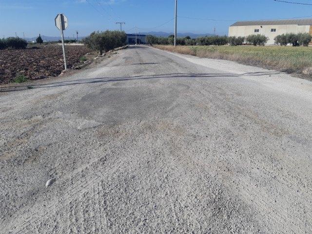 Se incluyen varias vías rurales de cuatro pedanías en el Registro Municipal de Caminos del Ayuntamiento de Totana - 2, Foto 2