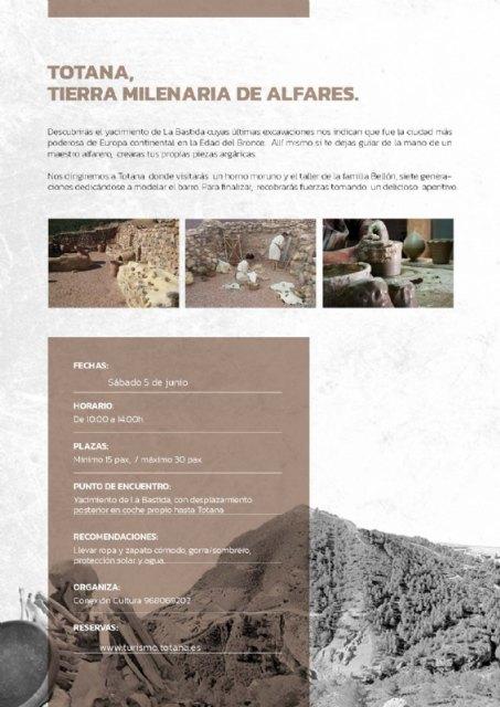 A partir de este fin de semana comienza el horario de visitas de verano al yacimiento arqueológico de La Bastida - 3, Foto 3