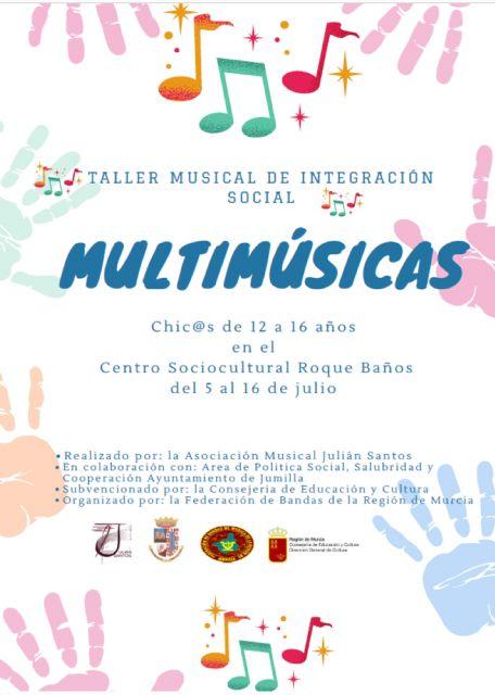 Taller Musical de Integración Social en Jumilla - 1, Foto 1