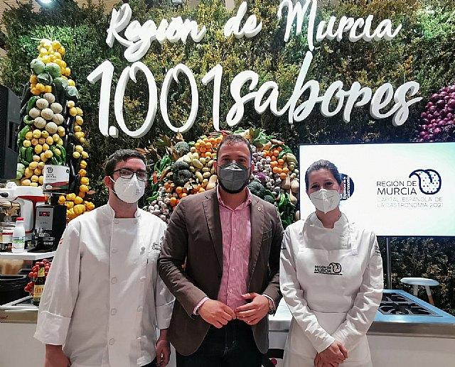 El Ayuntamiento de Lorca arropa a los hosteleros lorquinos que participaron en 'Madrid Fusión', primer congreso global de gastronomía - 1, Foto 1