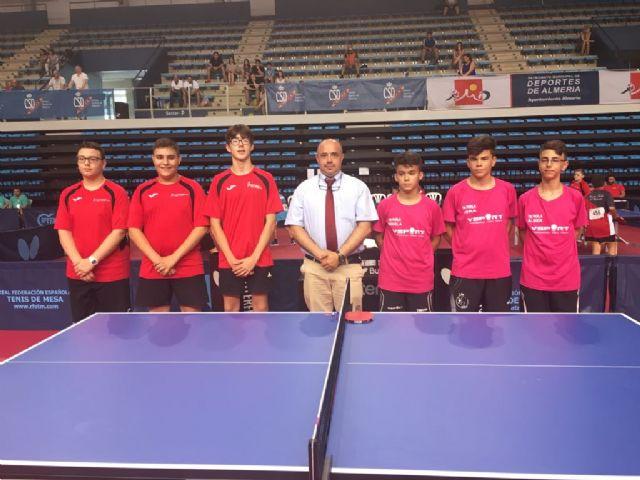 Club Totana Tenis de Mesa. Finalizan los Campeonatos de España 2017, Foto 4
