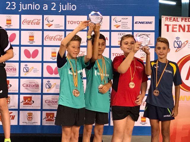 Club Totana Tenis de Mesa. Finalizan los Campeonatos de España 2017, Foto 7