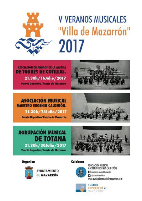 El municipio de Mazarrón celebra la quinta edición de los Veranos Musicales - 1, Foto 1