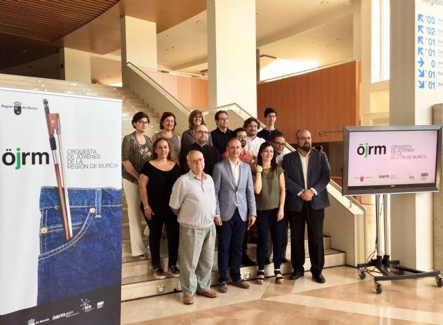La Comunidad subirá a los escenarios a los nuevos talentos de la música de la Región con la Orquesta de Jóvenes, Foto 2