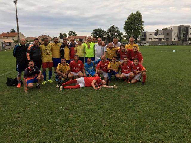 Los veteranos de S.D. Pachanga San Javier ganan el 35 Torneo Jean Boronad en Francia - 1, Foto 1