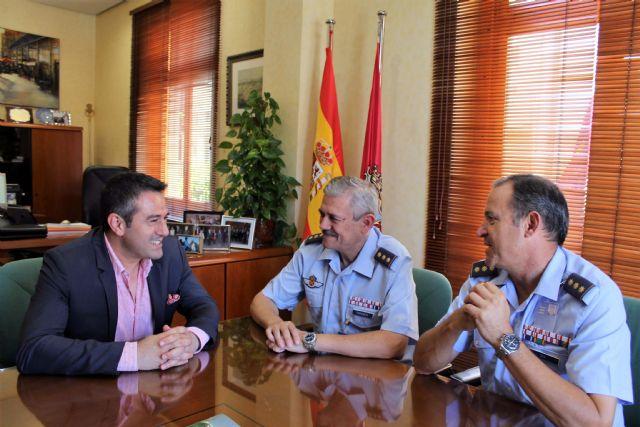 Despedida del Coronel Jefe de la Base Aérea de Alcantarilla y presentación de su relevo - 2, Foto 2