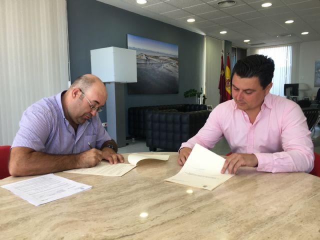 SAN JAVIER/ El Ayuntamiento renueva convenio de colaboración con la ...