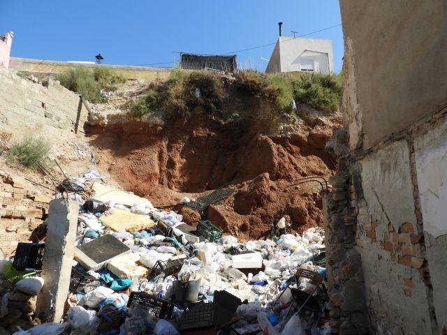 IU-V exige al nuevo gobierno local la limpieza de solares y viviendas abandonadas en la parte alta del barrio de San Cristóbal - 2, Foto 2