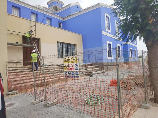 "The rehabilitation works of the Ginés Rosa Theater of the Sociocultural Center ""La Cárcel"" begin"