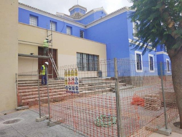 "Comienzan las obras de rehabilitaci�n del Teatro Gin�s Rosa del Centro Sociocultural ""La C�rcel"", Foto 2"
