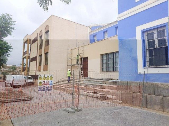 "Comienzan las obras de rehabilitaci�n del Teatro Gin�s Rosa del Centro Sociocultural ""La C�rcel"", Foto 3"