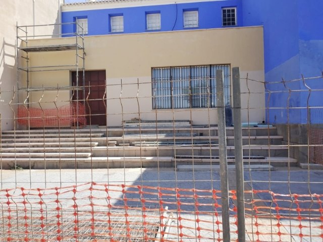 "Comienzan las obras de rehabilitaci�n del Teatro Gin�s Rosa del Centro Sociocultural ""La C�rcel"", Foto 4"