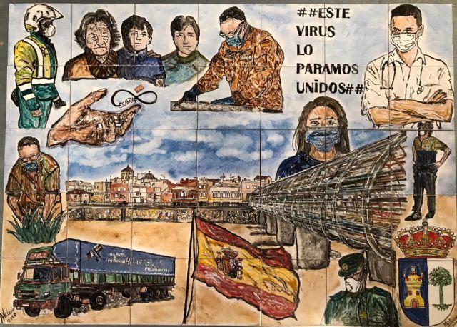 El Ayuntamiento de Puerto Lumbreras conmemora el día de la Independencia con un acto de reconocimiento a todos los lumbrerenses ante el COVID-19 - 3, Foto 3