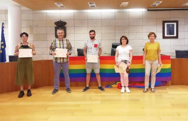 Entregan los premios del I Concurso de Poesía, Relato Breve y Cómic organizado por la Concejalía de Igualdad con motivo del Día del Orgullo LGTBI