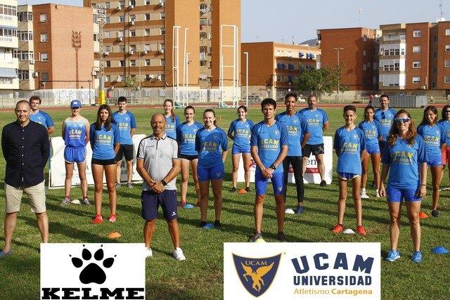 KELME y UCAM Atletismo Cartagena ratifican su acuerdo de equipamiento deportivo - 1, Foto 1