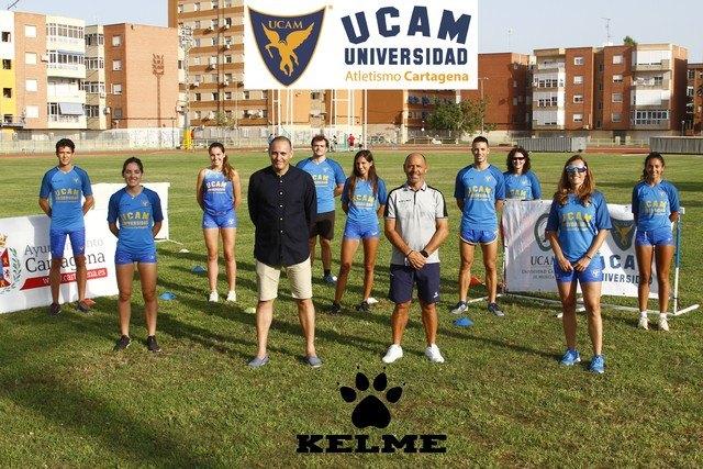 KELME y UCAM Atletismo Cartagena ratifican su acuerdo de equipamiento deportivo - 2, Foto 2