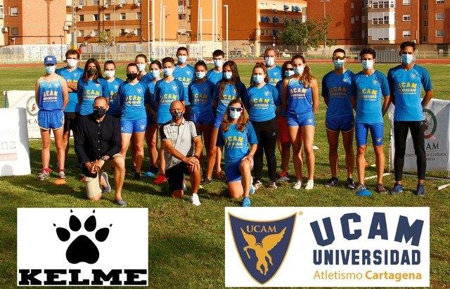 KELME y UCAM Atletismo Cartagena ratifican su acuerdo de equipamiento deportivo - 3, Foto 3