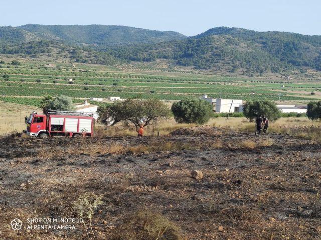 Incendio forestal en la pedanía abanillera Cañada de la Leña - 4, Foto 4