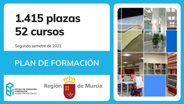 La Comunidad oferta 1.415 plazas en 52 cursos de formación a los empleados públicos en el segundo semestre del año - 1, Foto 1