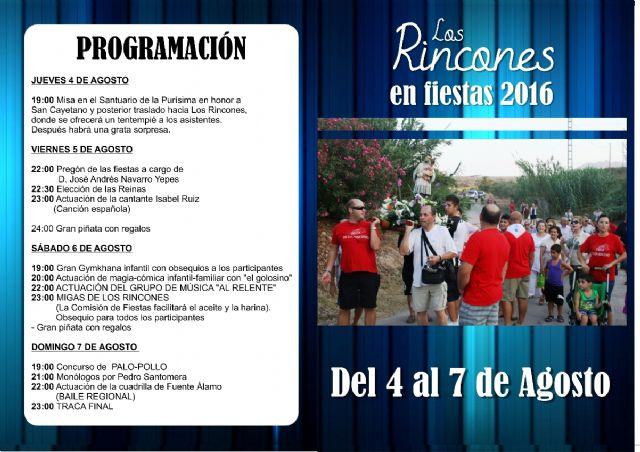 Los Rincones celebra sus fiestas en honor a San Cayetano - 1, Foto 1
