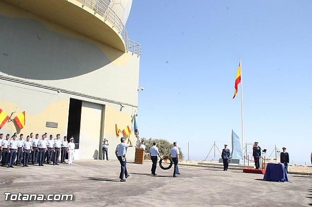 El Comandante del Cuerpo General del Ejército del Aire Juan Carlos Giz toma posesión de la Jefatura del Escuadrón del EVA 13, Foto 1