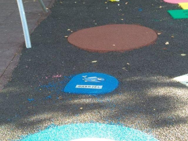 Finalizan las obras de sustituci�n del pavimento de caucho de la zona de juegos infantiles del parque Tierno Galv�n, Foto 4